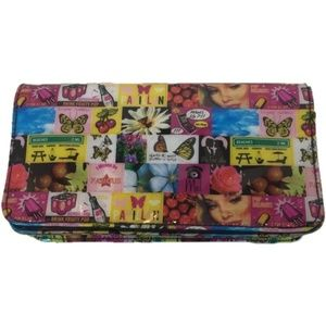 Relic Wallet Mixed Print Multicolor Flap Front